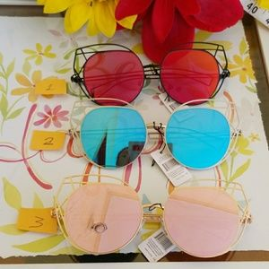 Accessories - 2019  Wire Cat Eye Frame Sunglasses Fashion Eyewea